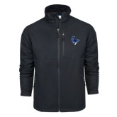 Columbia Ascender Softshell Black Jacket-Mascot Head