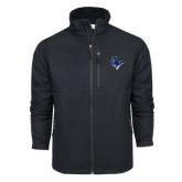 Columbia Ascender Softshell Black Jacket-Mascot Head