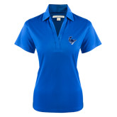 Ladies Royal Performance Fine Jacquard Polo-Mascot Head