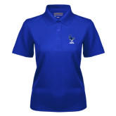 Ladies Royal Dry Mesh Polo-Mascot Cabrini Cavaliers