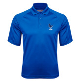 Royal Textured Saddle Shoulder Polo-Mascot Cabrini Cavaliers