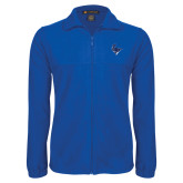 Fleece Full Zip Royal Jacket-Mascot Head