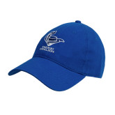 Royal Twill Unstructured Low Profile Hat-Mascot Cabrini Cavaliers