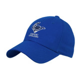Royal Heavyweight Twill Pro Style Hat-Mascot Cabrini Cavaliers