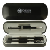 Black Roadster Gift Set-Cabrini University Mark Engraved