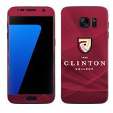 Samsung Galaxy S7 Skin-Clinton Stacked Logo