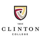 Large Decal-Clinton Stacked Logo, 12 inches wide