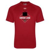 Under Armour Cardinal Tech Tee-Drum Line