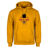 Gold Fleece Hoodie-Drum Line