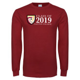 Cardinal Long Sleeve T Shirt-Class of Design