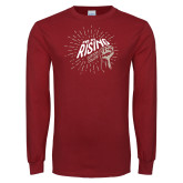 Cardinal Long Sleeve T Shirt-We Are Rising Graphic