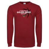 Cardinal Long Sleeve T Shirt-Mens Basketball