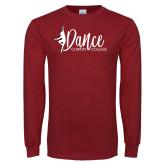 Cardinal Long Sleeve T Shirt-Dance