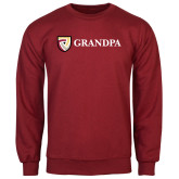 Cardinal Fleece Crew-Grandpa
