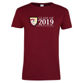 Ladies Cardinal T Shirt-Class of Design