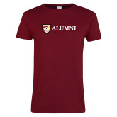 Ladies Cardinal T Shirt-Alumni