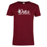 Ladies Cardinal T Shirt-Dance