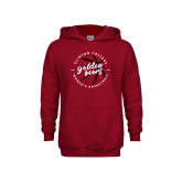 Youth Cardinal Fleece Hoodie-Womens Basketball