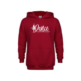 Youth Cardinal Fleece Hoodie-Dance
