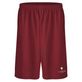 Performance Classic Cardinal 9 Inch Short-Clinton Stacked Logo