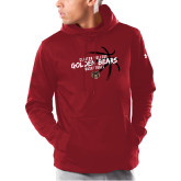 Under Armour Cardinal Armour Fleece Hoodie-Mens Basketball