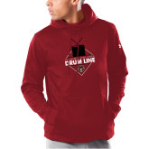 Under Armour Cardinal Armour Fleece Hoodie-Drum Line