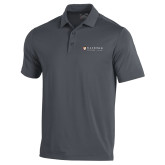 Under Armour Graphite Performance Polo-Clinton Horizontal Logo