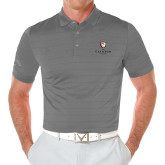 Callaway Opti Vent Steel Grey Polo-Clinton Stacked Logo