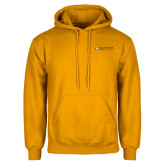 Gold Fleece Hoodie-Clinton Horizontal Logo