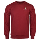 Cardinal Fleece Crew-Clinton Stacked Logo