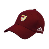 Adidas Cardinal Structured Adjustable Hat-Clinton Shield Logo