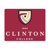 Small Magnet-Clinton Stacked Logo, 6 inches wide