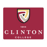 Medium Magnet-Clinton Stacked Logo, 8 inches wide