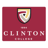 Large Magnet-Clinton Stacked Logo, 12 inches wide