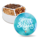 Deluxe Mix Happy Birthday Tin-Clinton Stacked Logo