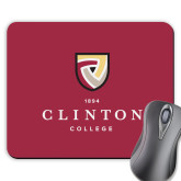 Full Color Mousepad-Clinton Stacked Logo