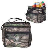 Big Buck Camo Junior Sport Cooler-Clinton Stacked Logo