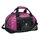 Ogio Pink Half Dome Bag-Clinton Stacked Logo
