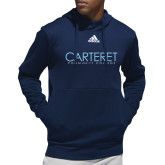 Adidas Navy Team Issue Hoodie-Wordmark