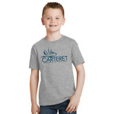 Youth Grey T Shirt-Primary Mark