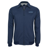 Navy Players Jacket-Wordmark