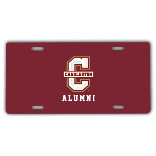 College of Charleston License Plate Alumni