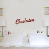 6 in x 2 ft Fan WallSkinz-Charleston Script