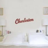 6 in x 2 ft Fan WallSkinz-Charleston Script