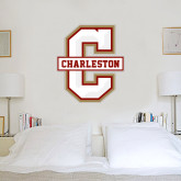 2.5 ft x 3 ft Fan WallSkinz-Official Logo - C Charleston