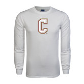 White Long Sleeve T Shirt-C