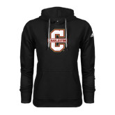 Adidas Climawarm Black Team Issue Hoodie-Official Logo - C Charleston