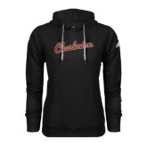 Adidas Climawarm Black Team Issue Hoodie-Charleston Script