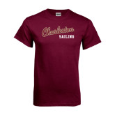 Maroon T Shirt-Sailing