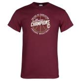 Maroon T Shirt-CAA Mens Basketball Champions